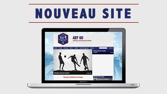 nouveau site AEF 60